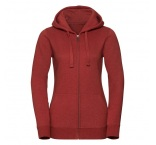 JZ263F.22.0 - 263F•Ladies` Authentic Melange Zipped Hood Sweat