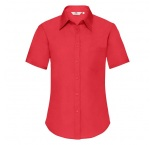 F180506 - F18•Ladies Short Sleeve Poplin Shirt